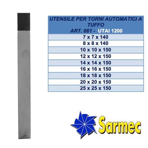 Articolo 661 Utensile per torni automatici a tuffo