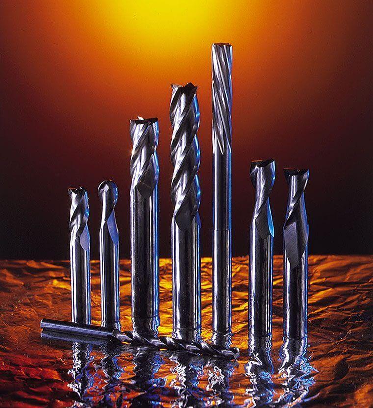 Frese, punte e alesatori in metallo duro integrale