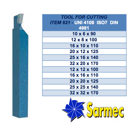 Item 621 Tool for cutting