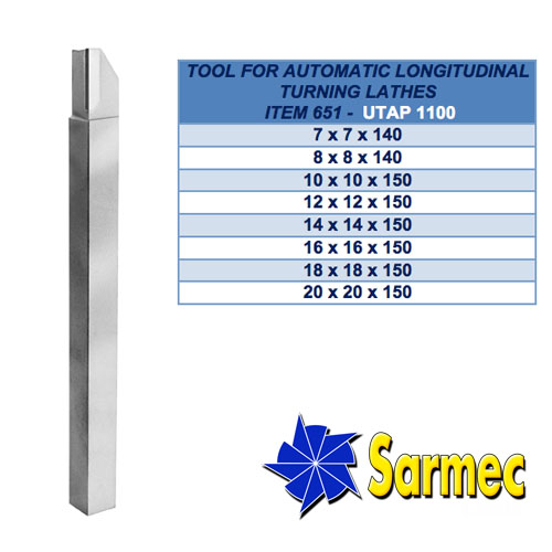 Item 651 Tool for automatic longitudinal turning lathes