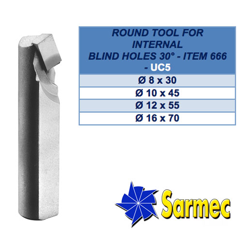 Item 666 Round Tool for internal