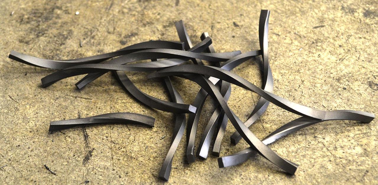 Placchette Elicoidali Tungsten Carbide Spiral Strips